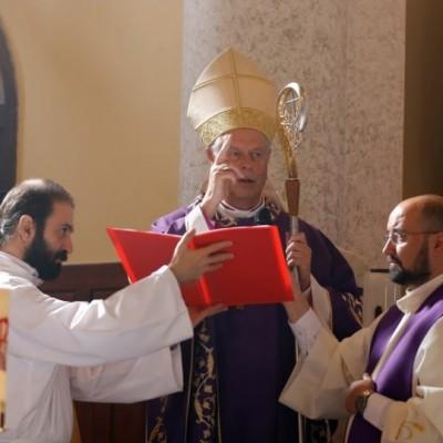 Messa di inizio del ministero del vescovo Paolo Bizzeti, vicario apostolico d'Anatolia