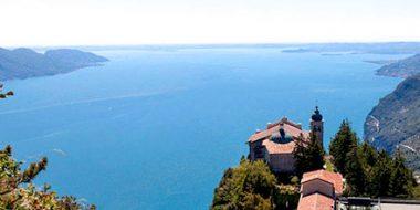 Italia. L'eremo di Montecastello dedicato a Carlo Maria Martini