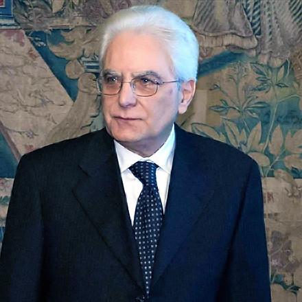 Il neo presidente Sergio Mattarella