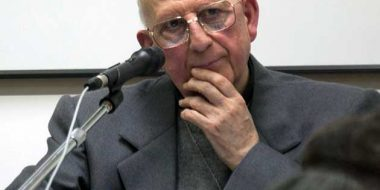 Roma.Da Francesco un riconoscimento speciale per padre Sorge