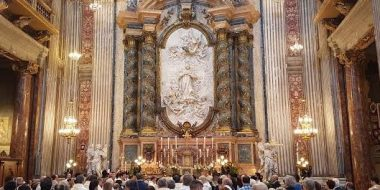 Roma. San Luigi Gonzaga, martire e modello di carità