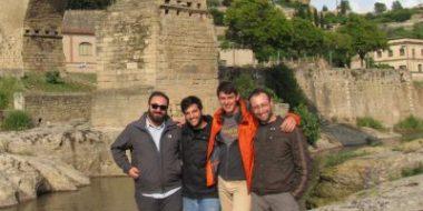 Genova. I primi voti di Andrea, Giuseppe, Arnold, Alexandru