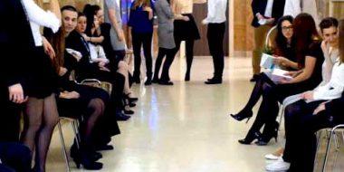 A Cracovia gli studenti ignaziani ballano il Flamenco