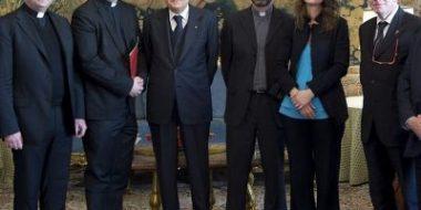 I promotori del Forum di Etica civile ricevuti dal presidente della Repubblica