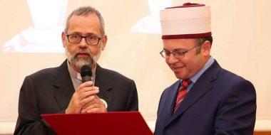 L'università premia padre Imperatori per il contributo al dialogo interreligioso