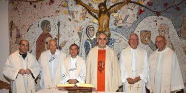 Il saluto dei padri gesuiti a Trento