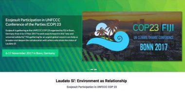 La rete dell'ecologia in prima linea contro il cambiamento climatico alla COP23