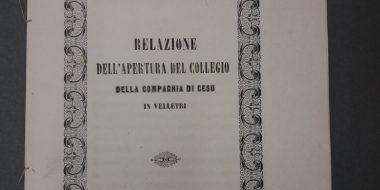 I gesuiti a Velletri: la Pasqua, la sommossa e il brigante Cencio Vendetta