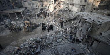 Rifugiati, Zenari «In Siria metà della popolazione vive fuori dalle proprie case»