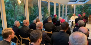 L'incontro di Francesco con i gesuiti nei Paesi baltici