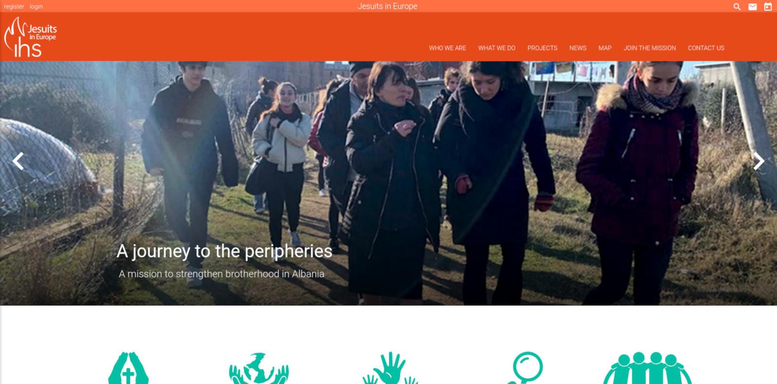 Il sito dei gesuiti in Europa